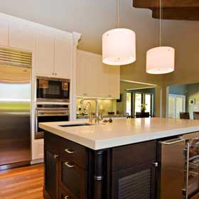 Pendant Lights In The Kitchen - Large kitchen pendants